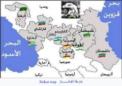 خرائط القوقاز والشيشان_7